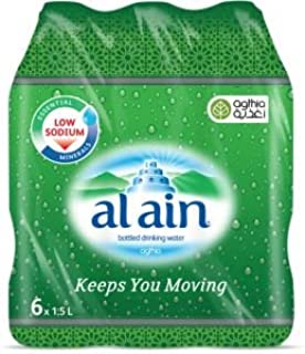 Al Ain Bottled Water - 6 Count/1.5L