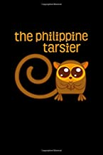 "The Philippine Tarsier: Filipino Notebook | Tagalog Pride More Fun In The Philippines Proud To Be Pinoy Food Journal Mini Notepad (6""X9"")"