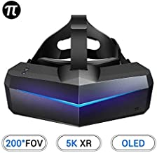 Pimax 5K XR OLED VR Virtual Reality Headset with Wide 200°FOV, Dual 2560x1440p OLED Panels & 6 DOF Tracking, 1-Year Warran...