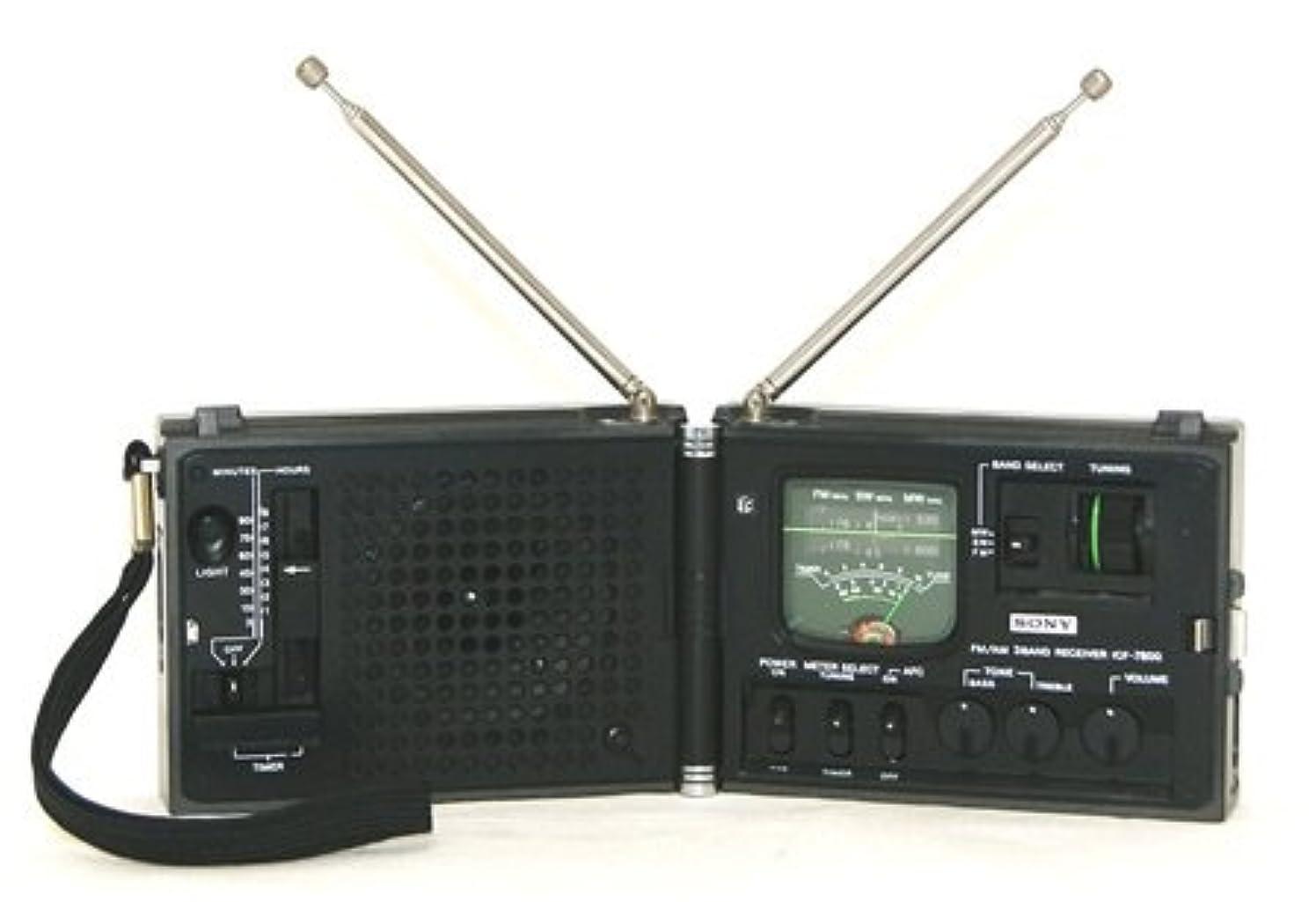 欠伸書誌スカートSONY ソニー ICF-7800 Newscaster ニュースキャスター FM/MW/SW 3バンド ハイ?コンパクト?レシーバー