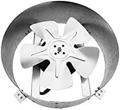 Amtrak Solar Powerful Galvanized Steel 80 Watt Fan Motor New Upgraded 14 inch Solar Fan Quietly Cools and Ventilates Your House, Garage or RV and Protects Against Moisture Build-up.