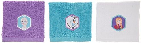 Disney Frozen Schneeflocken-Waschlappen, 6 Stück