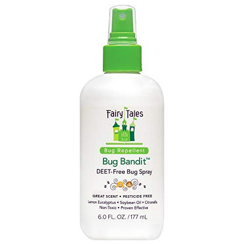 Fairy Tales Bug Bandit- Natural Bug Spray Kids Safe- Deet Free Insect Repellent- 6 oz.