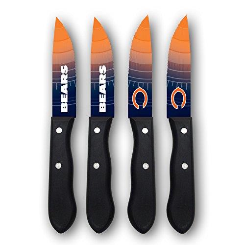 Sports Vault NFL Chicago Bears Steak Knive Set