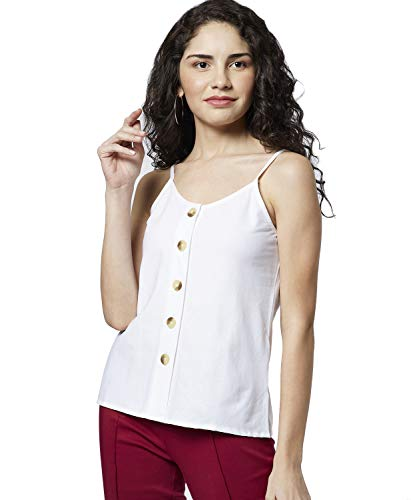 DJ&C by FBB Women's Plain Regular fit Shirt (DJWV 967_Off...