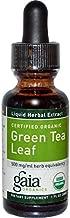Green Tea Certified Organic Extract Gaia Herbs 1 oz Liquid