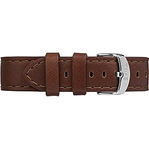Timex Unisex TW2P92400 Metropolitan+ Brown Stitched Leather Strap Smartwatch