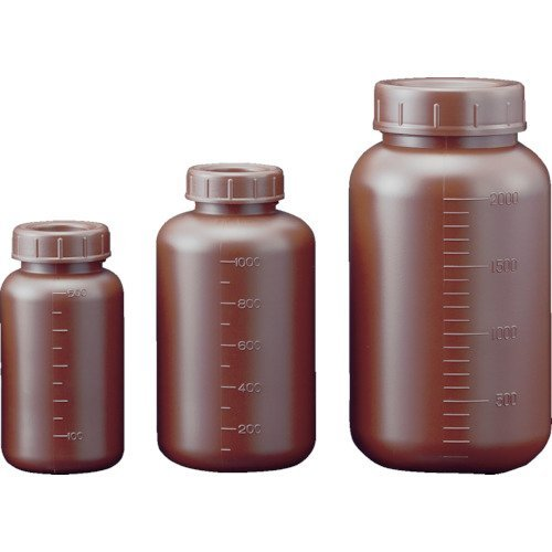 サンプラ フロロバリア遮光広口瓶 500ml 26230