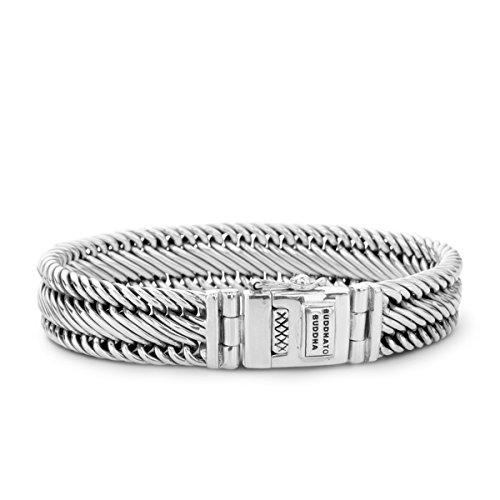 Buddha to Buddha Unisex-Armband 925er Silber One Size 86894335