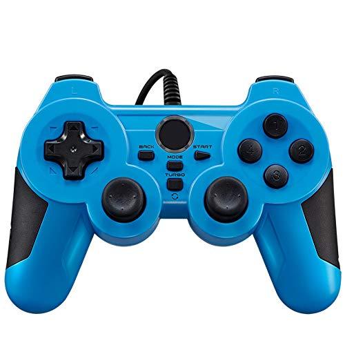 Ergonomics USB Gaming Controller,Joystick Gamepad With Dual-Vibration...