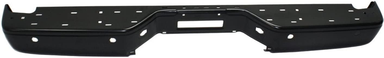For 2004-2013 New Titan Rear Step Bumper Chrome Full Assy W//O Sensor Hole New