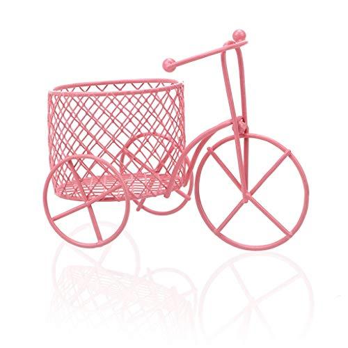 ZHUSHI Creativo Candy Rack Collar Bracelettricycle Car Rack Esponja Almacenamiento Decoración para el hogar Collar Rack (Color : Pink)
