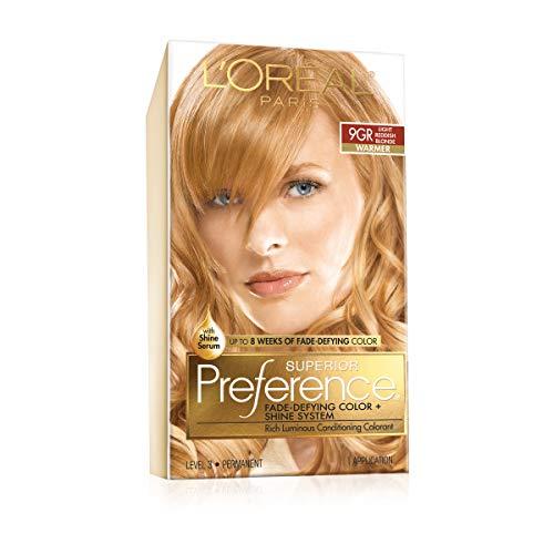 L'Oreal Superior Preference - 9GR Light Reddish Blonde (Warmer) 1 Each (Pack of 3)