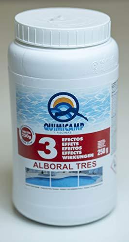 iFONT Cloro 3 Efectos | ALBORAL 3 Efectos TABLETAS 200G | Mantenimiento DE Piscinas | Formato 2 KG