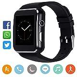 canmixs smartwatch orologi intelligenti fitness activity trakcer braccialett, cm11 impermeabile ip68 cardiofrequenzimetro da polso pedometro orologio sport per donna uomo per telefoni android e ios