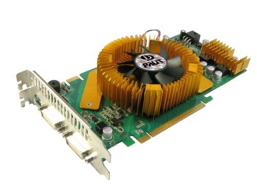 Palit Nvidia GeForce GF9800GT Super Grafikkarte (PCI-E, 512MB GDDR3 Speicher, Dual DVI-I, S-Video-Ausgang, 1 GPU)