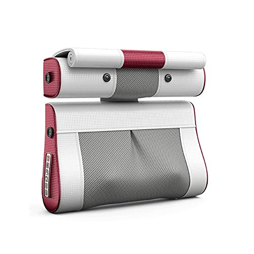 Rrooty Elektro-Hauskissen for Schulter und Nacken-Massagegerät, Rückenmassage for Taille und Lendenwirbelsäule