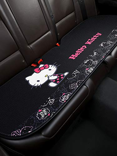 DPIST Hello Kitty Rear Car Seat Covers Protector,Universal Fit,Used Four Seasons
