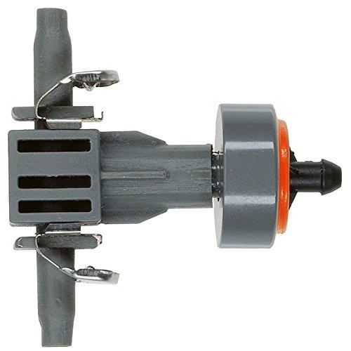 Gotero en línea regulador de presión Quick & Easy Caudal constante de 2 l/h independiente de la presión. Blister de 10 goteros.