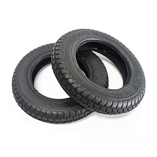 Neumáticos para scooter movilidad, 6 pulgadas 6X1 1/4 Neumáticos interiores y exteriores 6X1.25 Neumáticos antideslizantes engrosados resistentes al desgaste, compatibles con ruedas delanteras y tra
