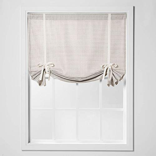 Honeycomb Light Filtering Balloon Window Shade Curtain Seagull Gray Rod Pocket 2 Panels- 42' Wide by 63' Long