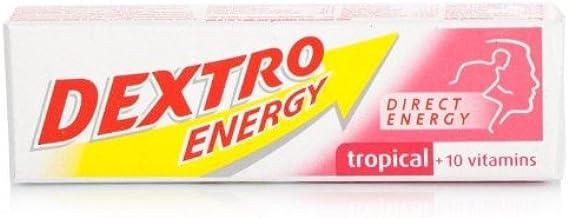 Dextro Dextro Energy Tropical 47g-PACK OF 3 Estimated Price : £ 2,55