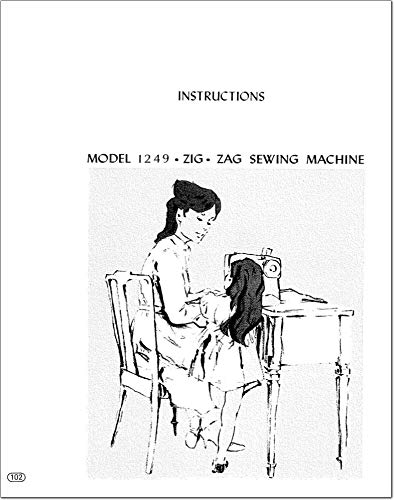 Best Bargain for Kenmore 1249 Sewing Machine Owners Manual