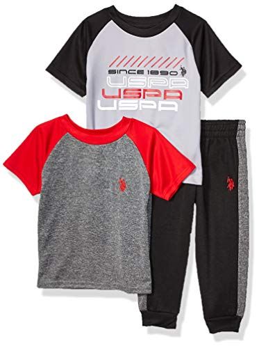 U.S. Polo Assn. Boys' Little Short …