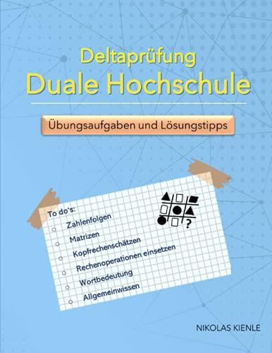 Deltaprüfung Duale Hochschule: Übungsaufgaben und Lösungstipps