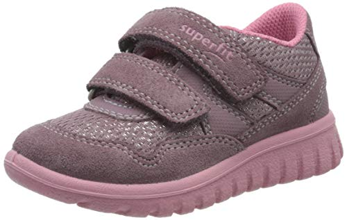 Superfit Mädchen SPORT7 Mini Sneaker, Violett (Lila/Rosa 90), 32 EU