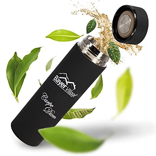 BayerVillage® Teeflasche mit Sieb To Go