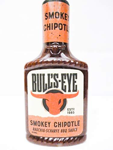 Bull's Eye Smokey Chipotle / Rauchig - Scharfe BBQ Sauce , 300 ml