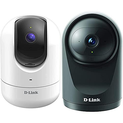 D-Link Videocamera Mydlink Dcs-8526Lh Wi-Fi Pan&Tilt Full Hd 1080P Con Rilevamento Della Persona & Dcs-6500Lh Videocamera Compatta Mydlink Wi-Fi Full Hd Pan & Tilt, Visione Notturna