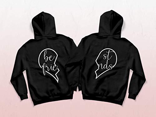 Best friends Hoodies für zwei Sweatshirt beste Freundin