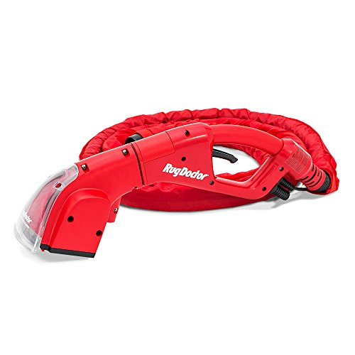 Rug Doctor Pro Upholstery Tool 12-Foot Hose, 5 Pounds Easily Attaches to Cleaning Machine, Dual Action Motorized Brush Roll, Commercial Suction Power, Professional Grade Results, Red
