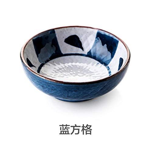 Qingsb 1 stks Japanse stijl geglazuurde keramische schotel saus schotel keuken creatieve Dessert schotel Sushi plaat, 1
