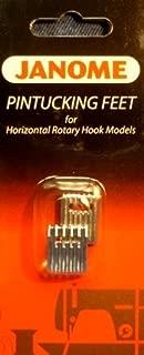 Janome Pintucking Feet for Horizontal Rotary Hook Models