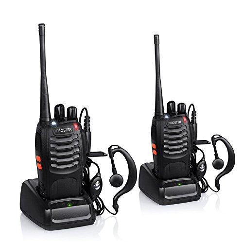 Walkie Talkie Recargable Largo Alcance Marca Proster