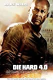 DIE Hard 4 - Bruce Willis – Film Poster Plakat Drucken
