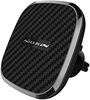 Nillkin Wireless Phone Car Charger - Qi Magnetic Wireless Charger Car Mount, 10W Fast Charging Air Vent Phone Holder, Comp...