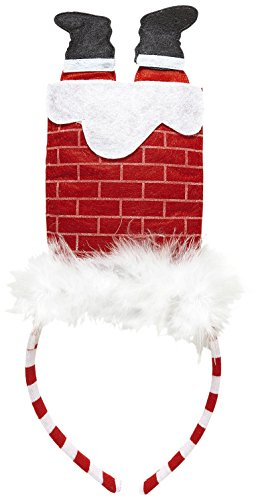 Widmann 05681 ? Noël Serre-tête Père Noël dans cheminée, taille unique