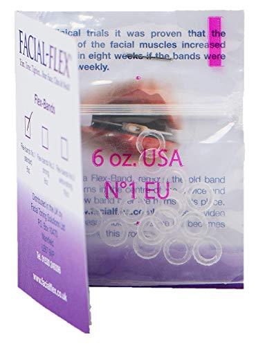 Bandes Flex - Paquet de 15 bandes sans latex pour utilisation avec Facial-Flex®