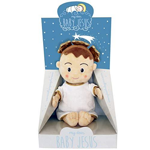 My Dear Baby Jesus Peluche Muñeco del Niño Jesús, Divino Niño, para Jugar, Rezar y Dormir con la Mejor Compañía 40 cm.