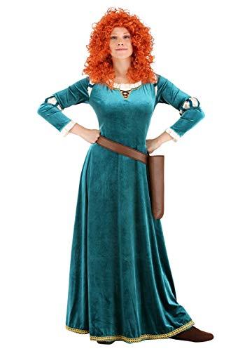 Brave Women's Disney Merida Fancy Dress - Disfraz para mujer, talla mediana