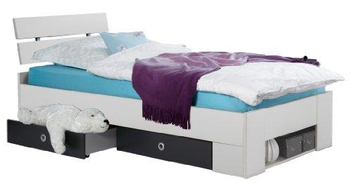 Wimex Bett/ Funktionsbett Rocco, Liegefläche 90 x 200 cm, Mehrfarbig