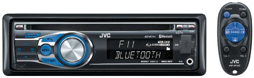 JVC KD R 711 CD-MP3-Tuner (AUX In, iPod/iPhone Steuerung, Bluetooth, USB 2.0)