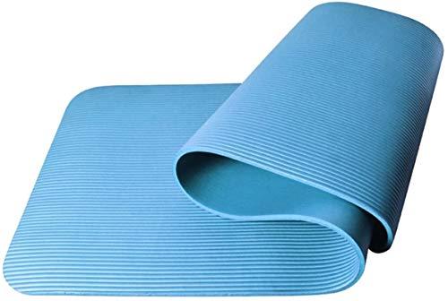 ZHENG Esterilla Yoga Colchonetas de Yoga 8 mm de espesos de alargamiento de Ancho de Deporte Alfombra de Yoga Manta de Fitness