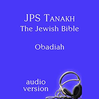 The Book of Obadiah: The JPS Audio Version cover art