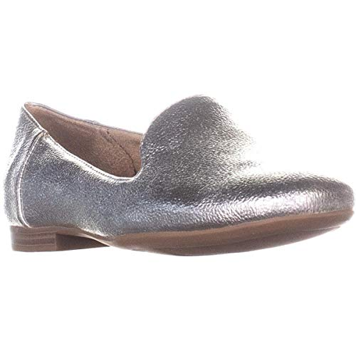 Price comparison product image Naturalizer Womens Kit2 Closed Toe Loafers,  Platino,  Size 7.0