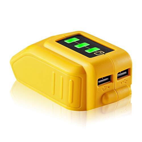 Jialitt USB Power Source Replace Dewalt DCB090 and Suit for Dewalt...